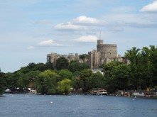 Windsor Castle view from Riverbaot