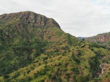Climbing up the Usambara Mountains