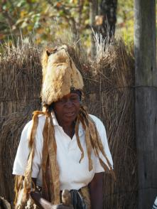 All participants had various animal fur/feather they were wearing