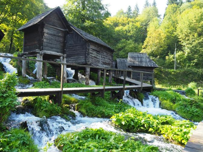 Watermills of Jajce